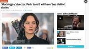 """Jennifer Lawrence plus que jamais prête à se révolter dans """"Hunger Games 3"""""""