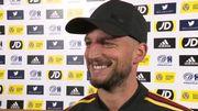 """Mertens: """"Les Écossais doivent gagner donc je ne sais pas s'ils vont se contenter d'attendre"""""""
