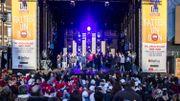 500 enfants réunis sur la Grand-Place de Tournai pour une performance grandeur nature