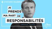 """Les Grands Discours: """"Je prends ma part de responsabilités"""" - Emmanuel Macron"""
