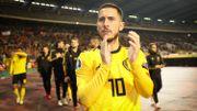 Drapeaux, DJs et Eden Hazard mis à l'honneur face au Kazakhstan