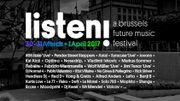 """""""Listen! A Brussels Future Music Festival"""" deuxième"""