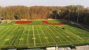 """Football américain, baseball... le nouveau """"temple"""" du sport US a été inauguré mardi à Mont-Saint-Guibert."""