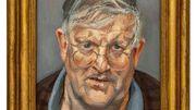Un rare portrait de Lucian Freud bientôt aux enchères