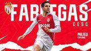 Fabregas signe pour 3 ans et demi à Monaco