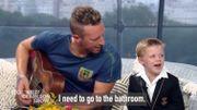 Coldplay : Chris Martin interrompu pendant un live pour une envie pressante