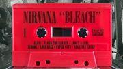 Le premier album de Nirvana en édition K7 rouge