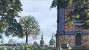 Vue de Mons, réalisée pendant le confinement