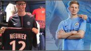 Meunier et De Bruyne présentent leur nouveau maillot