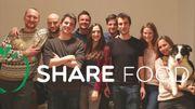 L'équipe à l'origine du projet Share food