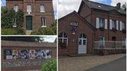 La maison de famille de Bourvil, son école et un monument à sa mémoire à Bourville