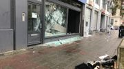 22 policiers blessés suite aux échauffourées dans le centre de Bruxelles samedi soir