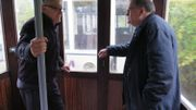 Roland Chaidron et Roland Dussart-Desart, deux nostalgiques de la SNCV.