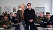 """L'actriceSara Mortensen (Plus belle la vie), dans le nouveau téléfilm """"Les mystères de l'école de gendarmerie"""""""