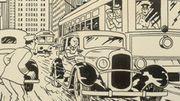 Une rare illustration de Tintin vendue 753.000 euros aux enchères