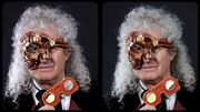 Brian May adopte un style Steam Punk pour ses lunettes 3D