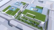 Le projet Légiapark, c'est 4 bâtiments, des labos, des bureaux, des salles blanches.