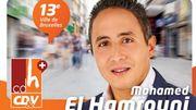 Mohamed El Hamrouni, ex-candidat cdH.