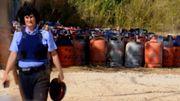 """Espagne: 120 bonbonnes de gaz retrouvées pour """"un ou plusieurs attentats"""" à Barcelone"""