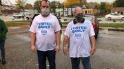 Ces militants démocrates qui ont littéralement mouillé leur chemise