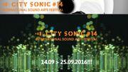 """La 14e édition de """"City Sonic"""" aura lieu à Mons et à Bruxelles du 14 au 25 septembre"""