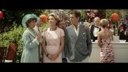 """Vidéo : Pierce Brosnan et Emma Thompson se rabibochent en France dans """"Love Punch"""""""
