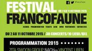 Le festival de musique Francofaune se tiendra à Bruxelles du 2 au 11 octobre