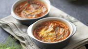 Recette : Crème brûlée tomate, poivron et fenouil
