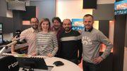 De gauche à droite: Sébastien Remacle, Stéphanie Vandreck, Olivier Gilain, Pierre-Yves Millet et Hugues Van Peel