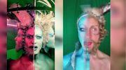 Maquillage: Darrell Thorne est spécialisé dans le domaine du double visage, c'est juste beau!