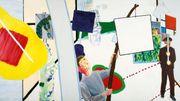 Deux mois après l'incendie, Bozar reprend des couleurs avec une rétrospective du peintre Roger Raveel