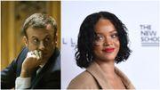 Que se passe-t-il entre Rihanna et Emmanuel Macron?