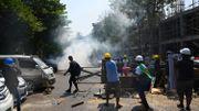 Coup d'Etat militaire en Birmanie: des manifestations de nouveau violemment dispersées