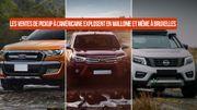 Les ventes de Pick-up explosent en Wallonie et à Bruxelles