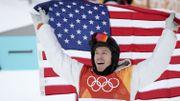 La légende américaine Shaun White enlève un 3e titre en halfpipe après 2006 et 2010