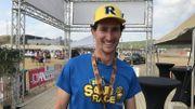 Simon Trussart, l'organisateur de la Sandrace, a le sourire