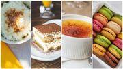 Les idées de desserts sans farine de Carlo De Pascale