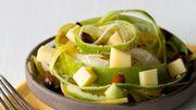 Recette : salade de carottes, pommes vertes et fromage