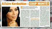 Affaire Kardashian: coup monté?