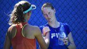 Van Uytvanck et Mertens éliminées au premier tour de l'US Open