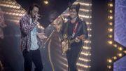 Matthieur Chedid chante avec Roméo Elvis à Foret National