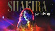 """Shakira annonce un prochain album pour2022, avec son premier single coloré """"Don't wait up"""""""
