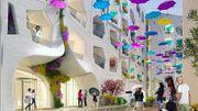 Dubaï crée une rue où il pleut toute l'année