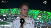 McLaren, Alonso, des leçons mais pas de regrets: 8 minutes avec Stoffel Vandoorne