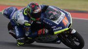 Bezzecchi domine en Moto3 en Argentine, 1er point de la saison pour Loi