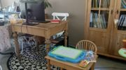 Chez Marie, Olivier, Augustin et Clémentine, chacun a son bureau... Même les plus petits.