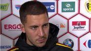 """Eden Hazard, Devil of the match: """"On ne va pas tout le temps marquer 3 ou 4 buts pour gagner le match"""""""