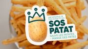 SOS patat: une campagne pour limiter le gaspillage des pommes de terre belges