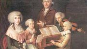 En 1763, Mozart est à Bruxelles