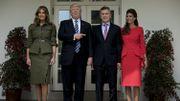 "USA: Donald Trump reçoit son ""ami"" de longue date Mauricio Macri"